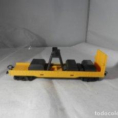 Trenes Escala: VAGÓN PARA GRUA ESCALA HO DE LIMA. Lote 235786535