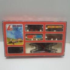 Trenes Escala: ANTIGUO TREN MECANICO LIMA CRICK 8. Lote 235882760