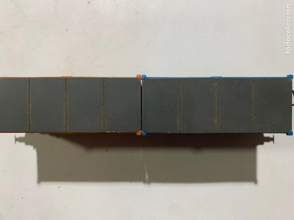 Trenes Escala: Vagon containers para tren eléctrico escala H0 Lima 2852 - Foto 4 - 236865850