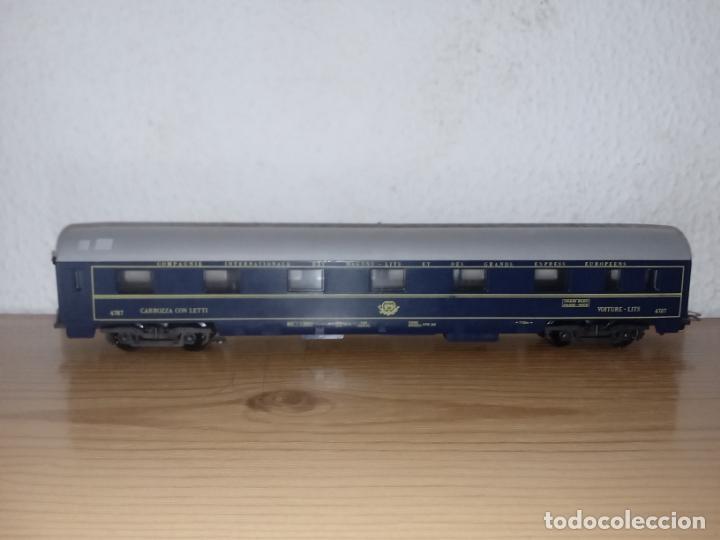 Trenes Escala: Lima antiguo vagón de tren Vagón de Pasajeros Schlafwagen Lima, 9119 Escala H0 Italia - Foto 6 - 243126885