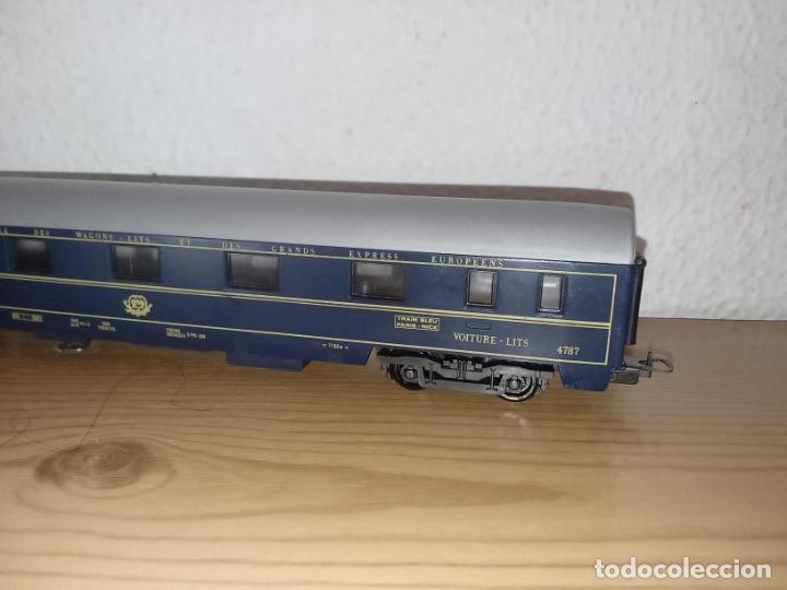 Trenes Escala: Lima antiguo vagón de tren Vagón de Pasajeros Schlafwagen Lima, 9119 Escala H0 Italia - Foto 8 - 243126885