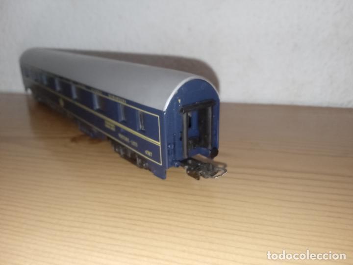 Trenes Escala: Lima antiguo vagón de tren Vagón de Pasajeros Schlafwagen Lima, 9119 Escala H0 Italia - Foto 9 - 243126885