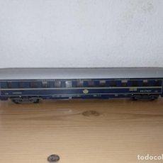 Trenes Escala: LIMA ANTIGUO VAGÓN DE TREN VAGÓN DE PASAJEROS SCHLAFWAGEN LIMA, 9119 ESCALA H0 ITALIA. Lote 243126885