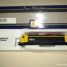 Trenes Escala: ANTIGUA LOCOMOTORA ELÉCTRICA AVE 252 EN ESCALA *H0* CORRIENTE CONTINUA DE LIMA. Lote 243177020