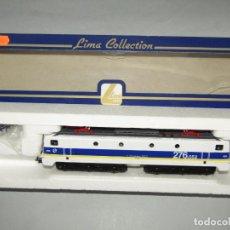 Trenes Escala: LOCOMOTORA ELÉCTRICA 276 DE RENFE ÉPOCA V MATRÍCULA 276-052-8 EN ESCALA *H0* DE LIMA. Lote 247132740
