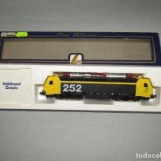 Trenes Escala: LOCOMOTORA ELÉCTRICA 252 DE RENFE MATRÍCULA 252-016-1 EN ESCALA *H0* DE LIMA. Lote 247134825
