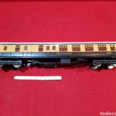 Trenes Escala: VAGÓN DE TREN ESCALA H0 GREAT WESTERN DE LA MARCA LIMA ITALY. Lote 249538430