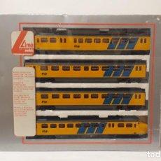 Trenes Escala: LIMA H0 COMPOSICIÓN AUTOMOTOR ELÉCTRICO *HUNDEKOOP*, DE LA N.S. S/R.. Lote 254256045