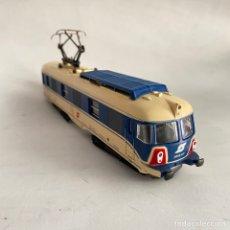 Trenes Escala: TREN LOCOMOTORA OBB TRANSALPINO 4010.07 LIMA ITALIA ESCALA H0 ÖBB. Lote 254901915