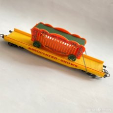 Trenes Escala: TREN VAGON LIMA CIRCO JAULA FELINOS ESCALA H0 ASSOCIATED SHOWS MINI CIRCUS. Lote 257418260
