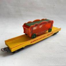 Trenes Escala: TREN VAGON LIMA CIRCO JAULA FELINOS ESCALA H0 ASSOCIATED SHOWS MINI CIRCUS. Lote 257418400