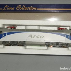 Trains Échelle: LOCOMOTORA ELÉCTRICA RENFE ARCO 252-026-0 EN ESCALA *H0* DE LIMA. Lote 258261620