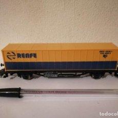 Comboios Escala: VAGON CARGA RENFE - LIMA - ESCALA H0 - EXX 2010 8. Lote 267410759