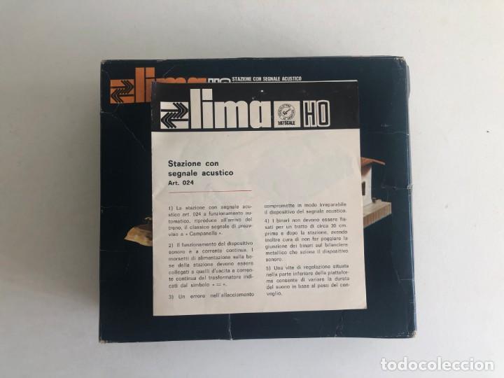 Trenes Escala: NUEVO LISTING: Caja Original. Stazione LIMA con señal acústica! Lima 1970s - Foto 2 - 268921429