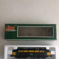 Comboios Escala: NUEVO LISTING. CAJA ORIGINAL. 1970S. LOCOMOTORA LIMA + 2 VAGONES!!!. PERFECTO ESTADO.. Lote 268940589