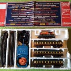 Trenes Escala: CAJA COMPLETA DE TREN .LIMA.HO. Lote 277625858