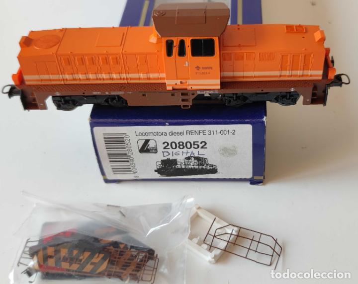 LIMA LOCOMOTORA DIESEL RENFE REF: 208052 DIGITALIZADA (Juguetes - Trenes a Escala H0 - Lima H0)