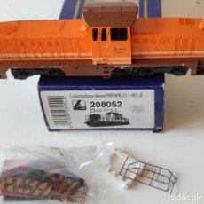 Trenes Escala: LIMA LOCOMOTORA DIESEL RENFE REF: 208052 DIGITALIZADA. Lote 278532938