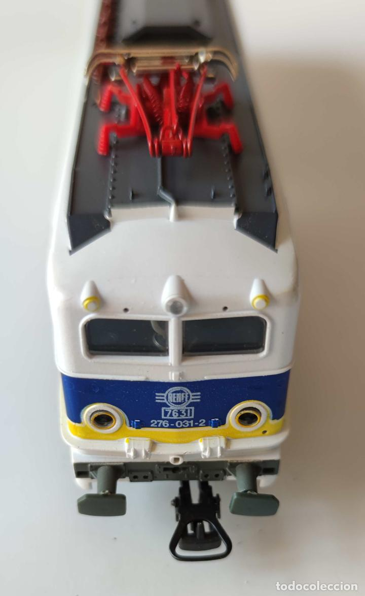 Trenes Escala: LIMA LOCOMOTORA ELECTRICA RENFE 276 REF: 208051 DIGITALIZADA - Foto 4 - 278533193