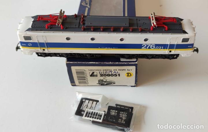 LIMA LOCOMOTORA ELECTRICA RENFE 276 REF: 208051 DIGITALIZADA (Juguetes - Trenes a Escala H0 - Lima H0)