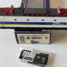 Trenes Escala: LIMA LOCOMOTORA ELECTRICA RENFE 276 REF: 208051 DIGITALIZADA. Lote 278533193