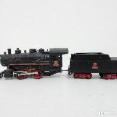 Comboios Escala: LIMA H0 LOCOMOTORA DE VAPOR CON TENDER ALCO 1930 020-0201 RENFE. Lote 285993898