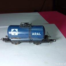 Trenes Escala: VAGÓN CISTERNA ARAL ESCALA HO DE LIMA. Lote 288397898