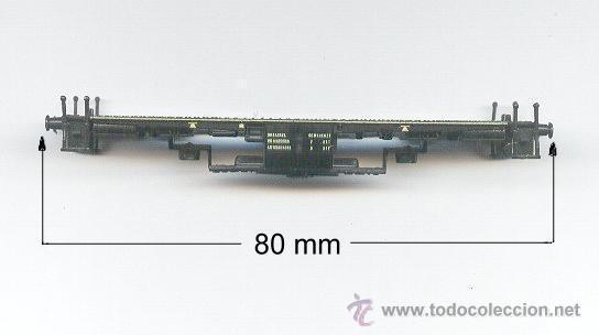 CHASIS DE LOCOMOTORA V100 (Juguetes - Trenes a Escala N - Lima N)