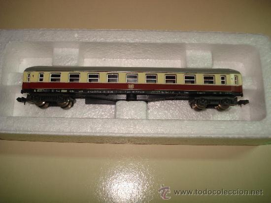 Trenes Escala: Antiguo Coche Viajeros 1ª Clase de la DB de LIMA en escala *N* del Año 1965-70. - Foto 6 - 48853178