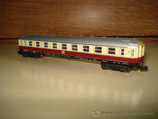 Trenes Escala: Antiguo Coche Viajeros 1ª Clase de la DB de LIMA en escala *N* del Año 1965-70. - Foto 5 - 48853178