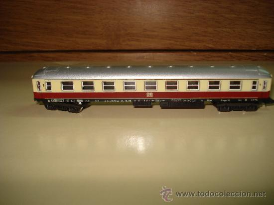 Trenes Escala: Antiguo Coche Viajeros 1ª Clase de la DB de LIMA en escala *N* del Año 1965-70. - Foto 3 - 48853178