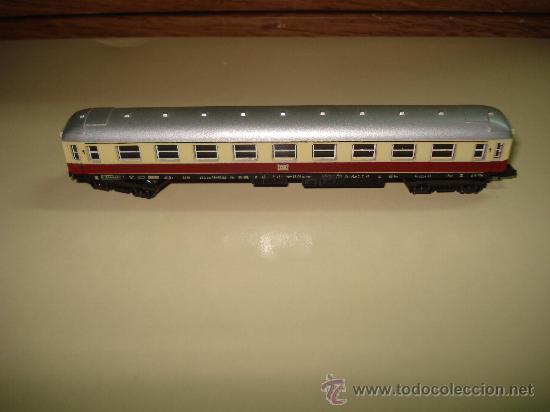 Trenes Escala: Antiguo Coche Viajeros 1ª Clase de la DB de LIMA en escala *N* del Año 1965-70. - Foto 2 - 48853178
