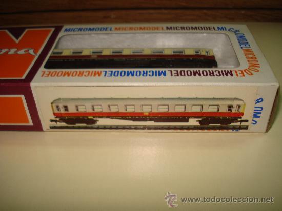 Trenes Escala: Antiguo Coche Viajeros 1ª Clase de la DB de LIMA en escala *N* del Año 1965-70. - Foto 4 - 48853178