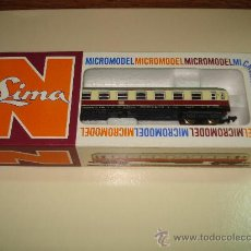 Trenes Escala: ANTIGUO COCHE VIAJEROS 1ª CLASE DE LA DB DE LIMA EN ESCALA *N* DEL AÑO 1965-70.. Lote 48853178