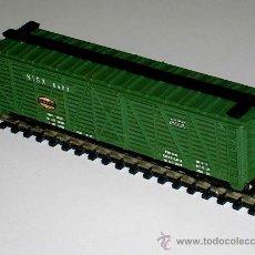 Trenes Escala: VAGÓN AMERICANO MERCANCÍAS 4 EJES, Cª NEW YORK CENTRAL, LIMA ESC. N, ORIGINAL AÑOS 70.. Lote 32597128