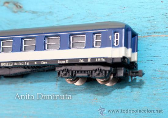 Trenes Escala: ANTIGUO VAGON DE PASAJEROS DB - LIMA ESCALA N - EN SU CAJA ORIGINAL - EN - - Foto 5 - 35521077
