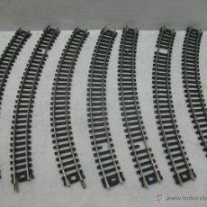 Trenes Escala: LIMA - LOTE DE 7 CURVAS - ESCALA N. Lote 42860882