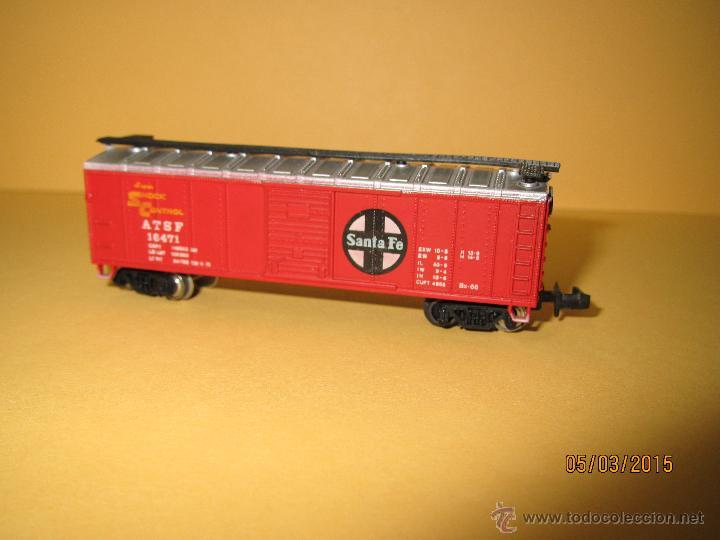 Trenes Escala: Vagón Americano SANTA FE en Escala *N* de BACHMANN - Foto 2 - 48854032