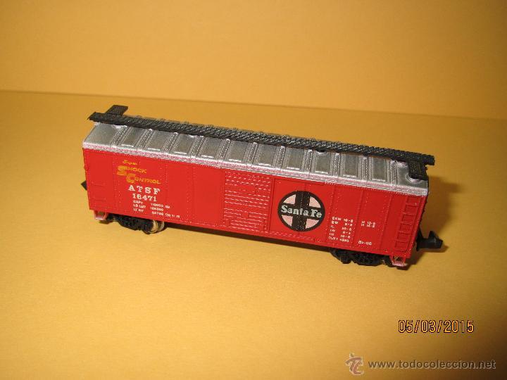 Trenes Escala: Vagón Americano SANTA FE en Escala *N* de BACHMANN - Foto 3 - 48854032
