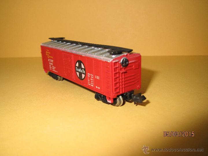 Trenes Escala: Vagón Americano SANTA FE en Escala *N* de BACHMANN - Foto 4 - 48854032