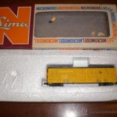 Trenes Escala: VAGON LIMA MCROMODEL. AÑOS 70. ESCALA N. SIN USO. REF 427. Lote 54412925