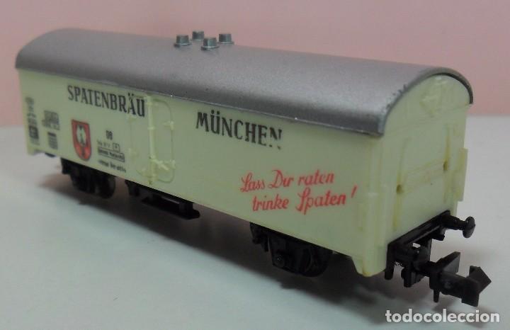 Trenes Escala: LIMA N - Vagón refrigerado SPATENBRÄU MÜNCHEN - Foto 3 - 69940441