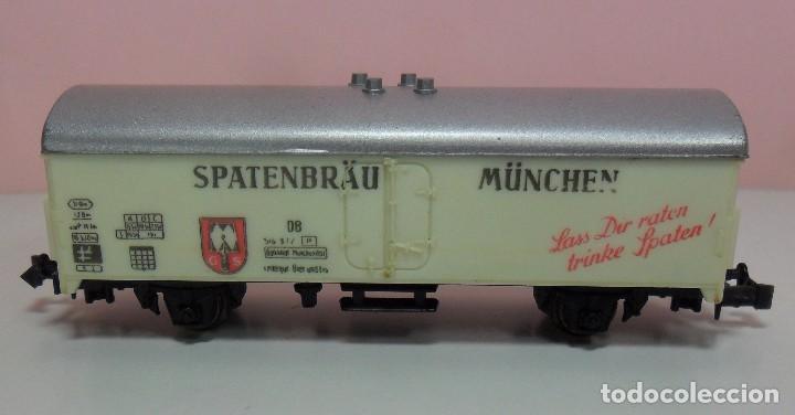 Trenes Escala: LIMA N - Vagón refrigerado SPATENBRÄU MÜNCHEN - Foto 4 - 69940441