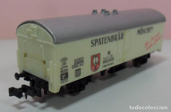 Trenes Escala: LIMA N - Vagón refrigerado SPATENBRÄU MÜNCHEN - Foto 5 - 69940441