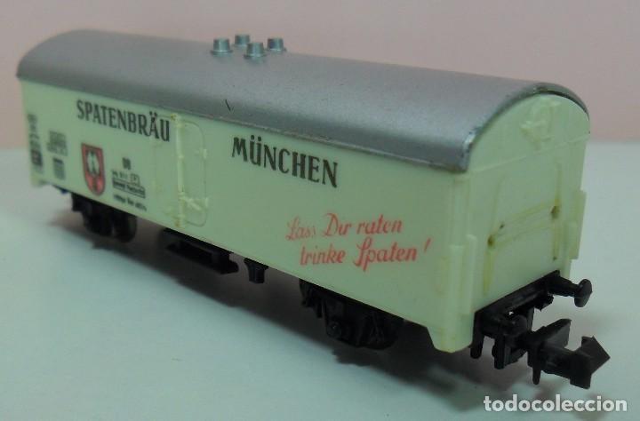 Trenes Escala: LIMA N - Vagón refrigerado SPATENBRÄU MÜNCHEN - Foto 6 - 69940441