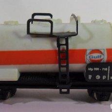 Trenes Escala: LIMA N - VAGÓN CISTERNA GULF. Lote 78456121