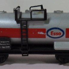 Trenes Escala: LIMA N - VAGÓN CISTERNA ESSO. Lote 78458429