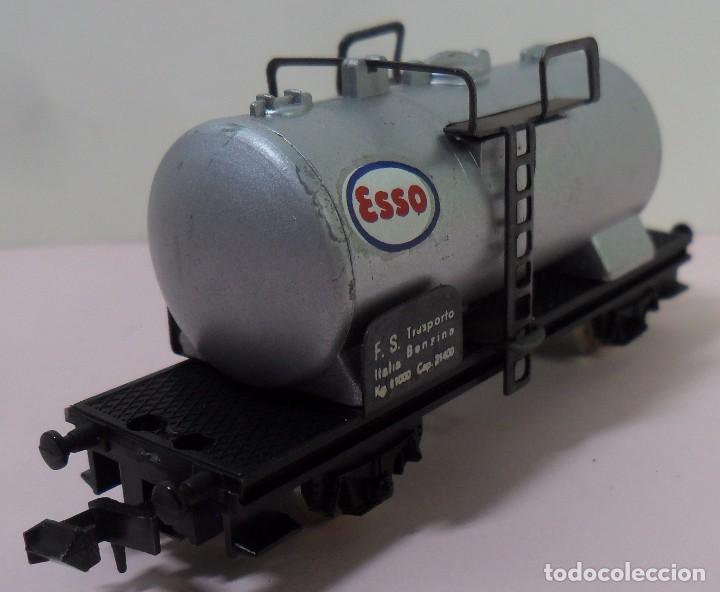 Trenes Escala: LIMA N - Vagón cisterna ESSO - Foto 2 - 78458849