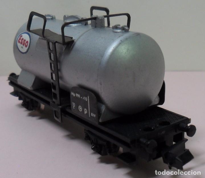 Trenes Escala: LIMA N - Vagón cisterna ESSO - Foto 3 - 78458849