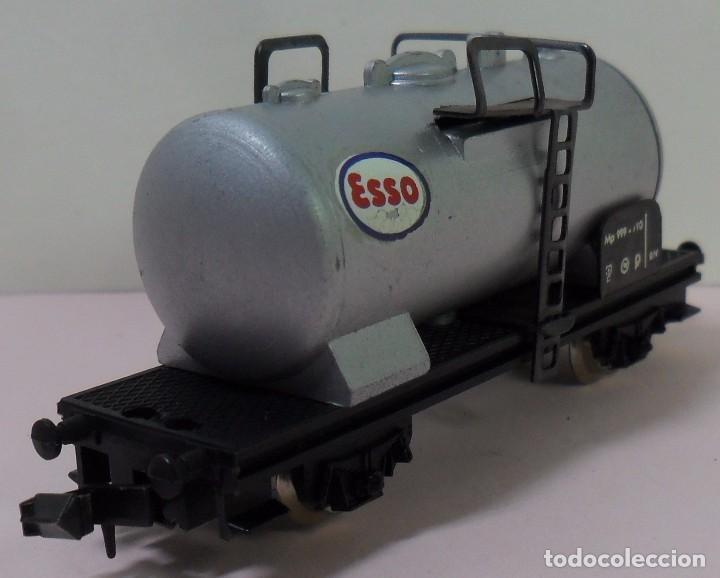 Trenes Escala: LIMA N - Vagón cisterna ESSO - Foto 5 - 78458849